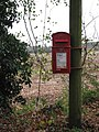 Lonely postbox - geograph.org.uk - 614964.jpg