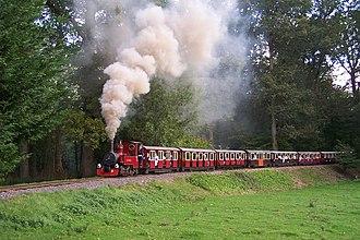 Longleat Safari Park - Longleat Railway no. 6 John Hayton in 2006