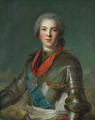 Louis, Dauphin of France (son of Louis XV) - Portrait after Jean-Marc Nattier, 1750