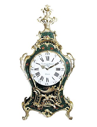 Louis George - Royal console clock made by the Louis George workshops at Berlin, Prussia