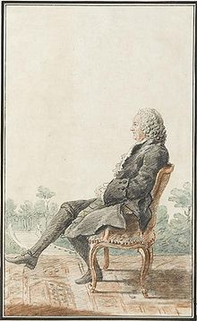 Louis Racine by the artist Carmontelle