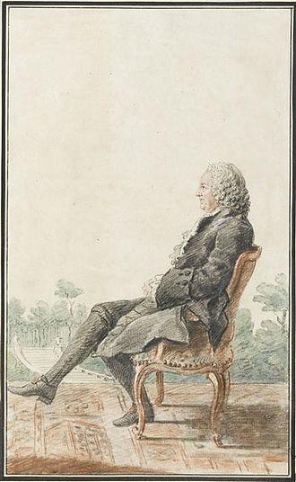 Louis Racine - Louis Racine by the artist Carmontelle