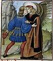 Love kissing lover (Roman de la Rose, 15th century).jpg