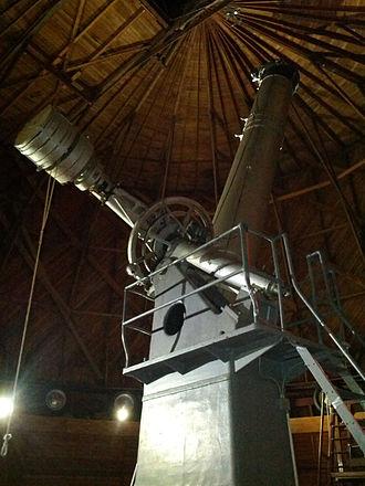 Alvan Clark - Alvan Clark Refractor Telescope at Lowell Observatory