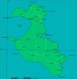 [Lieux du tournage] Lifou - Nouvelle-Calédonie 250px-Loyalty_islands_Lifou_map