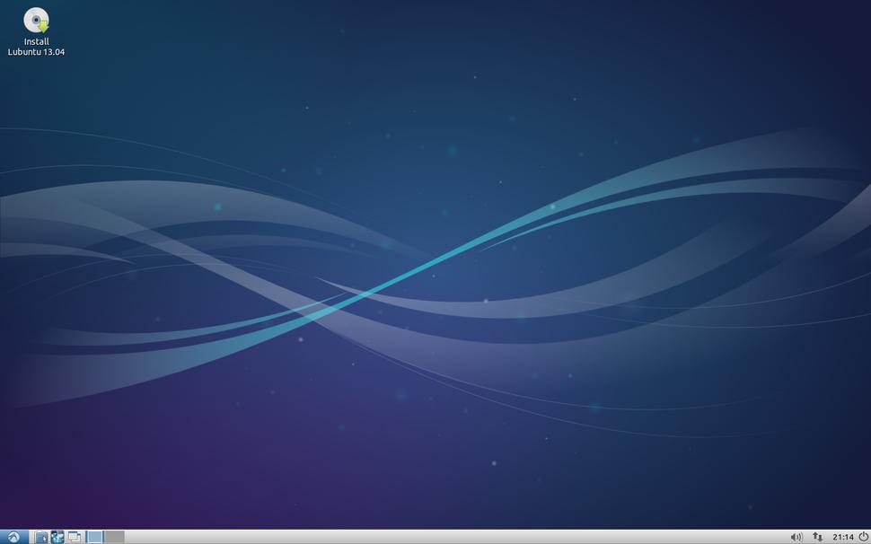 Lubuntu 13.04 English