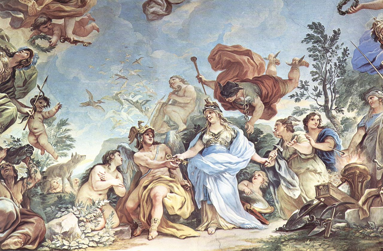 File luca giordano wikimedia commons for Escultura mural