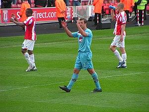 Lucas Neill - Neill playing for West Ham.