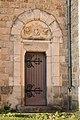 Lupé-Porte de la sacristie de l'église-20151204.jpg
