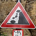 Luxembourg road sign A, 10 Grund.jpg
