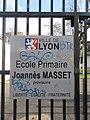 Lyon 9e - Plaque école Joannès Masset (fév 2019).jpg
