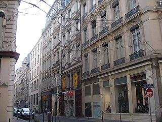 street in Lyon, France