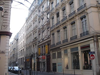 Rue de l'Arbre-Sec - Image: Lyon Arbre sec 1