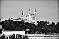 Lyon Fourvière - Retouchée avec The Gimp - Noir et blanc - 2011.jpg