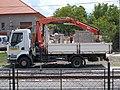 MÁV HÉV Renault truck, HÉV station, 2020 Mogyoród.jpg