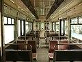 Métro de Paris ligne 4 - Aménagement intérieur MP 59 rénové.JPG