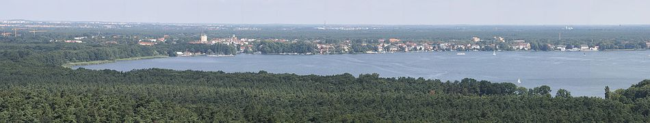 Panorama des Müggelsees