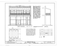 M. Leibovitz Building, 1818 East Seventh Avenue, Tampa, Hillsborough County, FL HABS FLA,29-TAMP,12- (sheet 1 of 1).png