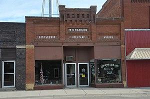National Register of Historic Places listings in Hamlin County, South Dakota - Image: M. O. HANSON BUILDING, CASTLEWOOD, HAMLIN COUNTY, SD
