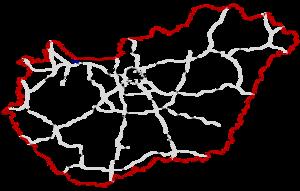 M19 motorway (Hungary) - Image: M19 Autópálya Hungary