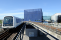 M1 Metro arrives at DR Byen station in Copenhagen Denmark.png