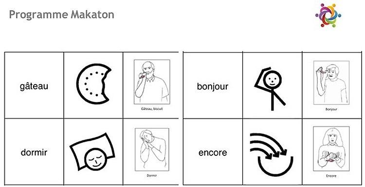 pictogramme makaton