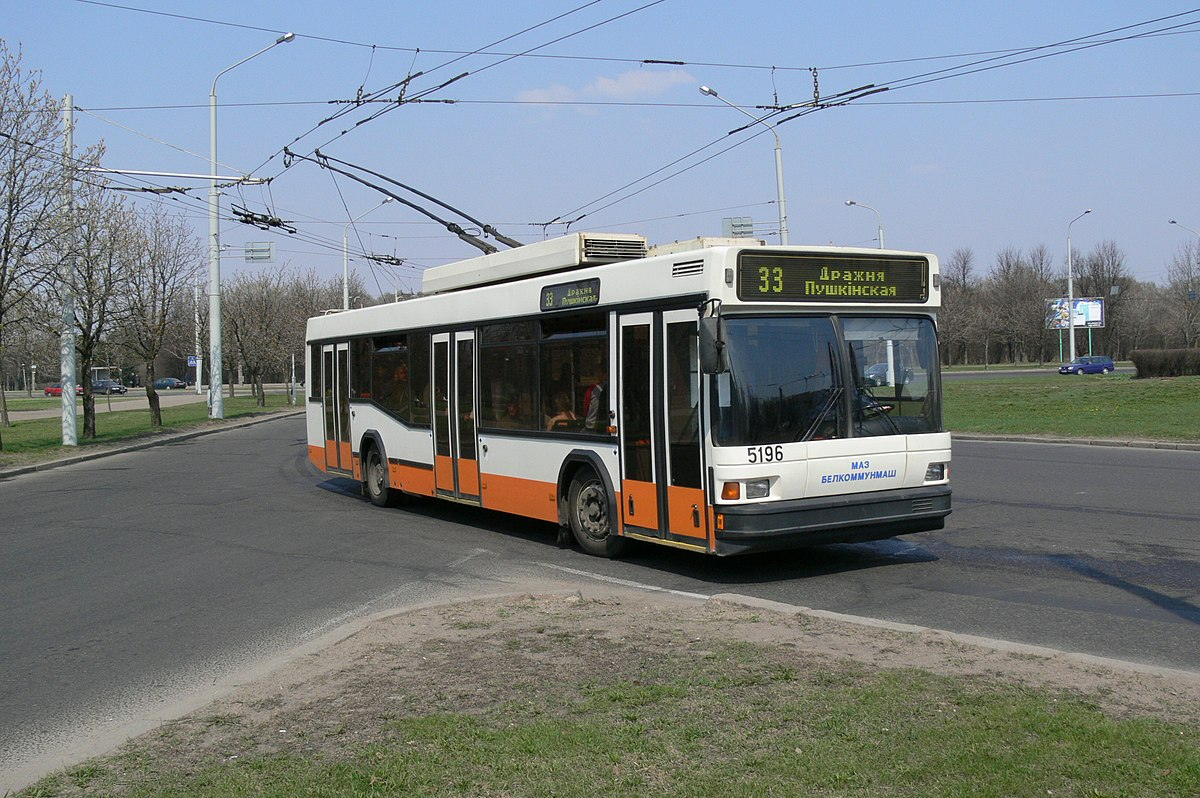 trolleybuses in belarus wikipedia