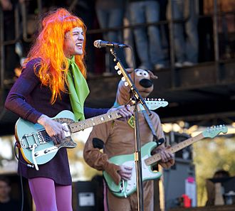 MGMT - MGMT performing at Voodoo Festival 2010, dressed as characters from Scooby-Doo for Halloween