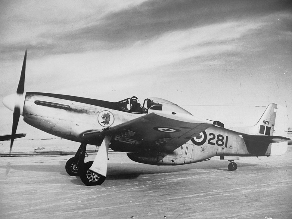 MUSTANG RCAF 9221