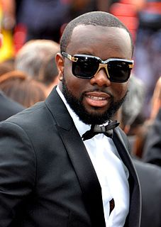 Maître Gims French rapper of Congolese origin