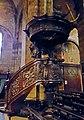 Maastricht, OLV-basiliek, middenbeuk, preekstoel 2.jpg