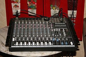 Aux-send - Mackie CFX12 Live Sound Mixer