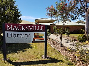 Macksville, New South Wales - Image: Macksville Library