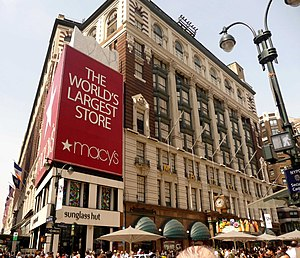 Macy's - The same location in 2010.