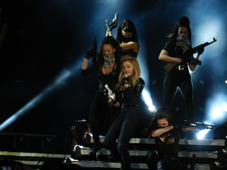 "Celebration (Madonna album) - Image: Madonna ""Revolver"" The MDNA Tour 2012"