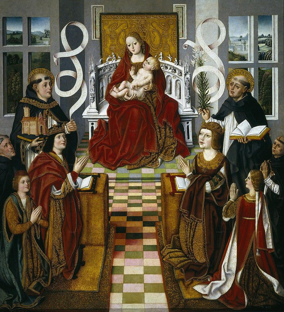 Madonna of the Catholic Monarchs
