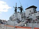 Maestrale class frigate Euro (F 575) - Harbour of Reggio Calabria - Italy - 8 July 2018 - (26).jpg