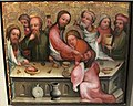 Maestro bertram di minden, ultima cena, amburgo 1380-90 ca..JPG
