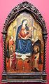Maestro del 1416, madonna col bambino e in trono e 4 santi, 1410-15, 01.JPG