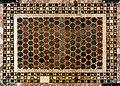 Magister paulus, frammento di decortazione cosmatesca a opus tessellatum alessandrino, xii secolo, probabilm. da antica basilica vaticana 02.jpg
