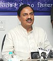 Mahesh Sharma addressing at the presentation of the awards for the best maintained Ministry of Tourism offices and its organisations and Painting Competition, organised by the India Tourism.jpg