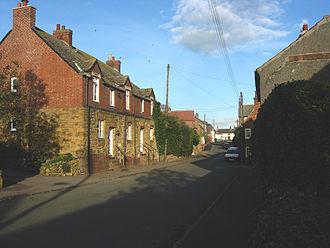 Ab Kettleby - Image: Main Street Ab Kettleby