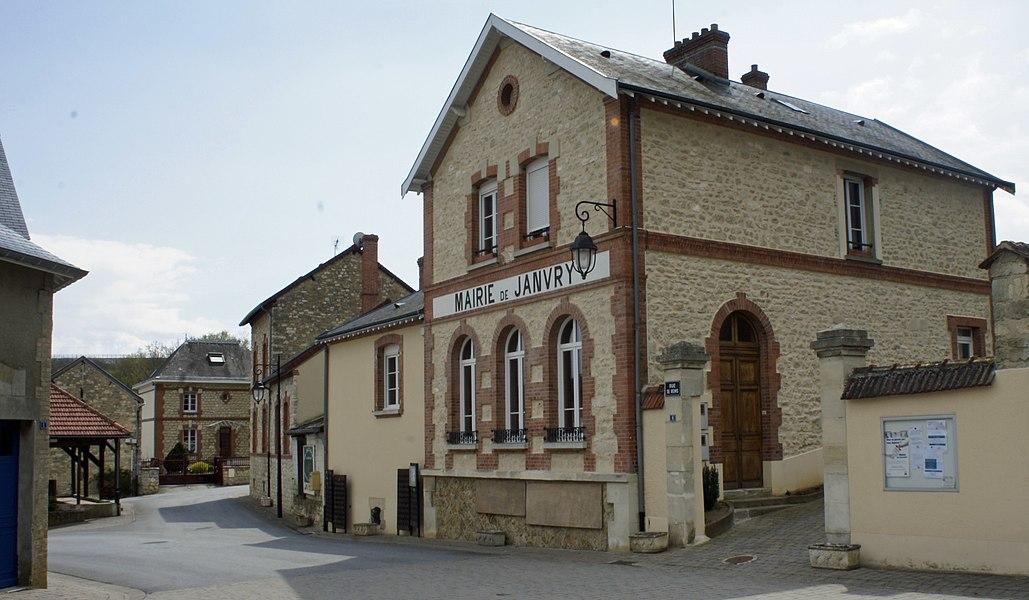 Mairie de Janvry.