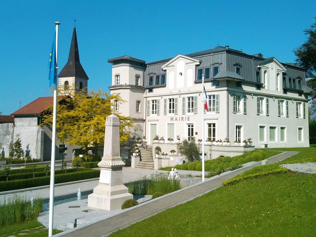Thonon les bains mairie for Savoie code postal