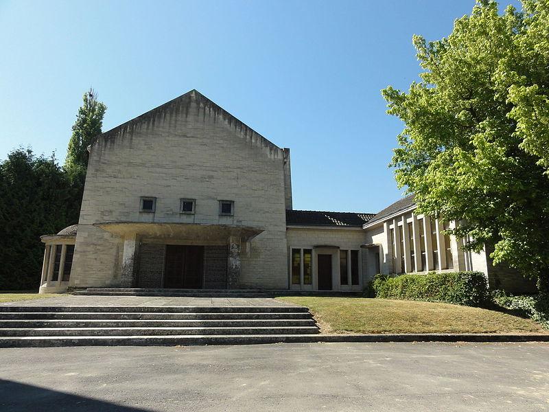 Maizy (Aisne) église