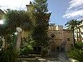 Majorque Palma Placa Llotja Sa Llotja Interieur Vue Jardin - panoramio (1).jpg