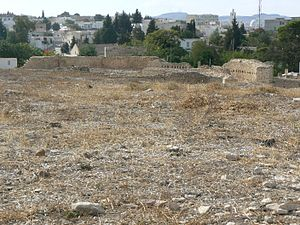 Maktar - Image: Makthar amphithéâtre ville