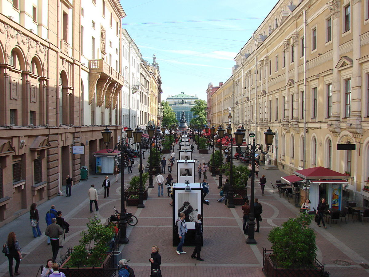 Walking the Streets of Moscow