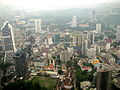 Malaysia - 058 - KL - Overlooking the city from KL Towers observation deck (3528062113).jpg