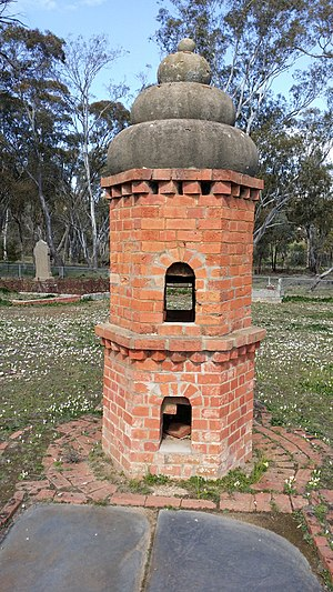 Maldon, Victoria - Chinese incense burner.